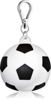 Bath & Body Works PocketBac Soccer Ball Silicone Hand Gel Packaging