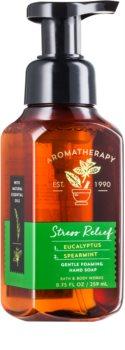 Bath & Body Works Stress Relief Eukalyptus Spearmint mydło w piance do rąk