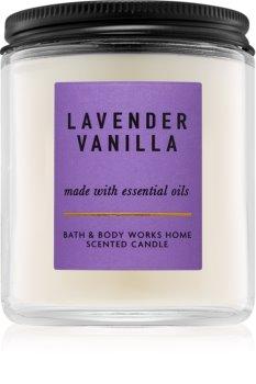 Bath & Body Works Lavender Vanilla Duftkerze  198 g