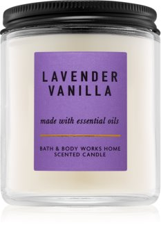 Bath & Body Works Lavender Vanilla Scented Candle 198 g