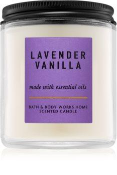 Bath & Body Works Lavender Vanilla vonná svíčka 198 g