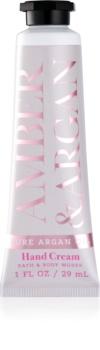 Bath & Body Works Amber & Argan crème mains