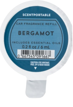 Bath & Body Works Bergamot aроматизатор за автомобил 6 мл.