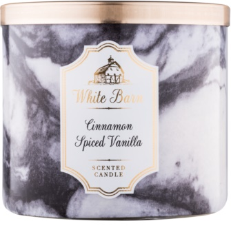Bath & Body Works White Barn Cinnamon Spiced Vanilla lumanari parfumate  411 g