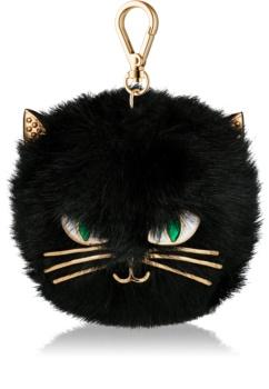 Bath & Body Works PocketBac Furry Black Cat Silicone Case for Hand Sanitizer Gel
