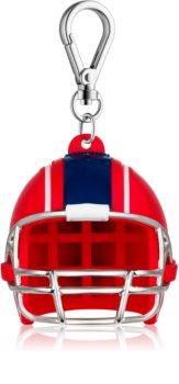 Bath & Body Works PocketBac Red White Blue Football Helmet szilikon kézfertőtlenítő gél csomagolás