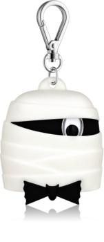 Bath & Body Works PocketBac Black Tie Mummy silikónový obal na gél na ruky