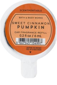 Bath & Body Works Sweet Cinnamon Pumpkin dišava za avto 6 ml nadomestno polnilo