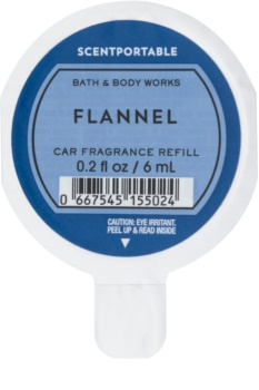 Bath & Body Works Flannel Auto luchtverfrisser  6 ml Vervangende Vulling