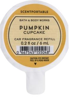 Bath & Body Works Pumpkin Cupcake ambientador auto 6 ml recarga de substituição