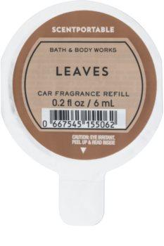 Bath & Body Works Leaves Auto luchtverfrisser  6 ml Vervangende Vulling