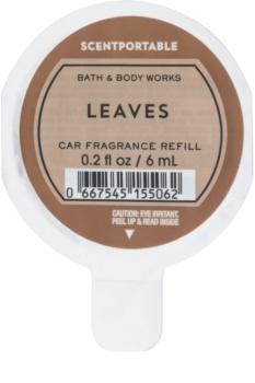 Bath & Body Works Leaves odświeżacz do samochodu 6 ml napełnienie