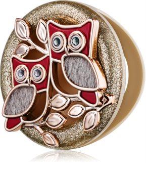 Bath & Body Works Shimmering Owls uchwyt zapachowy do samochodu   brelok