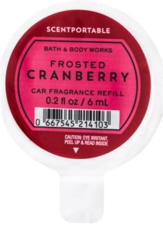 Bath & Body Works Frosted Cranberry dišava za avto 6 ml