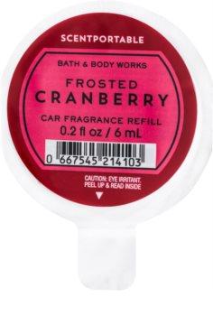Bath & Body Works Frosted Cranberry vôňa do auta 6 ml