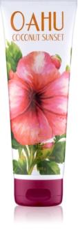 Bath & Body Works Oahu Coconut Sunset tělový krém pro ženy 226 g