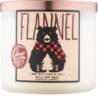 Bath & Body Works Camp Winter Flannel lumânare parfumată  411 g