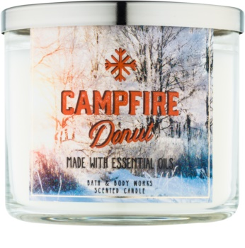 Bath & Body Works Camp Winter Campfire Donut Duftkerze  411 g