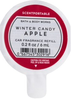 Bath & Body Works Winter Candy Apple vůně do auta 6 ml náhradní náplň