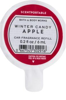 Bath & Body Works Winter Candy Apple vůně do auta 6 ml náhradní náplň