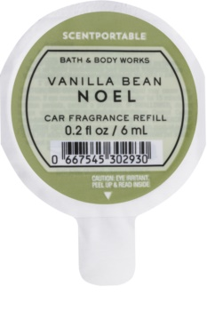 Bath & Body Works Vanilla Bean Noel Car Air Freshener 6 ml Refill