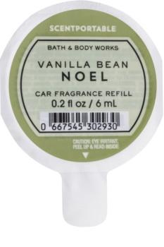 Bath & Body Works Vanilla Bean Noel parfum pentru masina 6 ml Refil