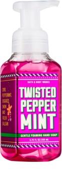 Bath & Body Works Twisted Peppermint pěnové mýdlo na ruce