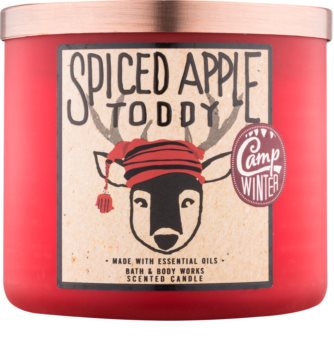 Bath & Body Works Camp Winter Spiced Apple Toddy lumanari parfumate  411 g