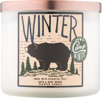 Bath & Body Works Camp Winter Winter bougie parfumée 411 g