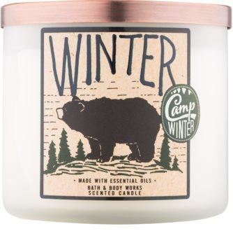Bath & Body Works Camp Winter Winter vonná sviečka 411 g
