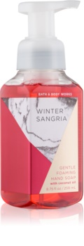 Bath & Body Works Winter Sangria hab szappan kézre