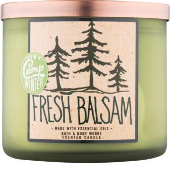 Bath & Body Works Camp Winter Fresh Balsam vonná svíčka 411 g