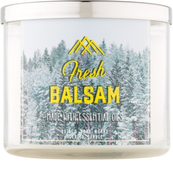Bath & Body Works Camp Winter Fresh Balsam illatos gyertya  411 g