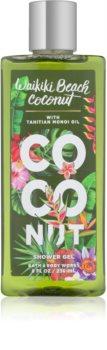 Bath & Body Works Waikiki Beach Coconut sprchový gel pro ženy 236 ml