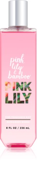 Bath & Body Works Pink Lily & Bambo spray corporel pour femme 236 ml