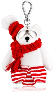 Bath & Body Works PocketBac Fashion Bear silikónový obal na gél na ruky