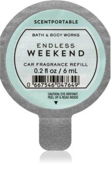 Bath & Body Works Endless Weekend désodorisant voiture recharge