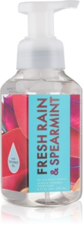 Bath & Body Works Fresh Rain & Spearmint Sapun spuma pentru maini