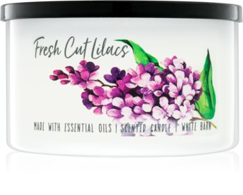 Bath & Body Works Fresh Cut Lilacs bougie parfumée 411 g