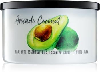 Bath & Body Works Avocado Coconut illatos gyertya  411 g