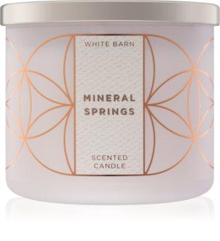 Bath & Body Works Mineral Springs vonná sviečka 411 g