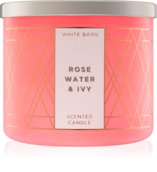Bath & Body Works Rose Water & Ivy dišeča sveča  411 g
