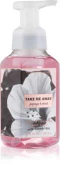 Bath & Body Works Papaya & Mint Sapun spuma pentru maini