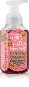 Bath & Body Works Watermelon Lemonade hab szappan kézre