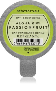 Bath & Body Works Aloha Kiwi Passionfruit Autoduft 6 ml Ersatzfüllung