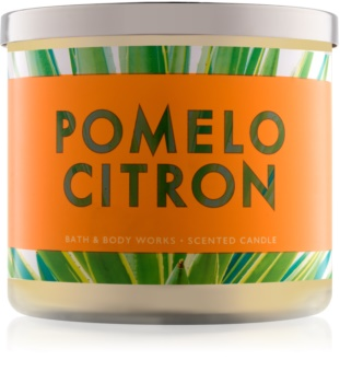 Bath & Body Works Pomelo Citron ароматизована свічка  411 гр