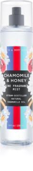 Bath & Body Works Chamomile & Honey tělový sprej pro ženy 236 ml