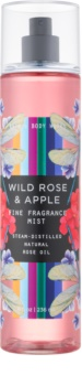Bath & Body Works Wild Rose & Apple Bodyspray  voor Vrouwen  236 ml