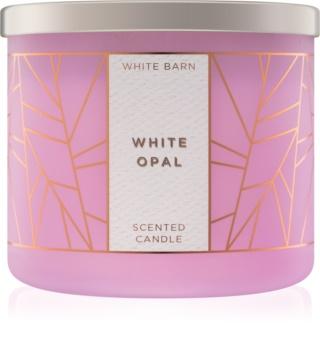 Bath & Body Works White Opal vonná sviečka 411 g