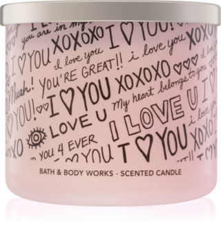 Bath & Body Works Honeysuckle Bouquet vonná svíčka 411 g limitovaná edice